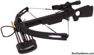 Spider compound crossbow 150 lb 4x32 scope ( Most reliable )